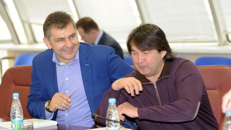 "Шамиль ГАЗИЗОВ (справа). Фото Александр ФЕДОРОВ, ""СЭ"""