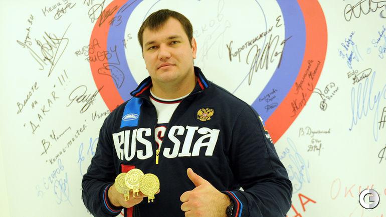 Сегодня. ОКР. Чемпион и рекордсмен мира Алексей ЛОВЧЕВ.