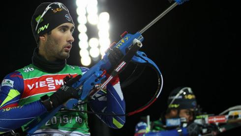 Мартен ФУРКАД прибыл в Эстерсунд после участия в этапе Кубка мира по лыжным гонкам. Фото СБР