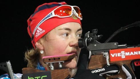 Действующая чемпионка мира в индивидуальной гонке Екатерина ЮРЛОВА выйдет на старт с особым настроем. Фото СБР