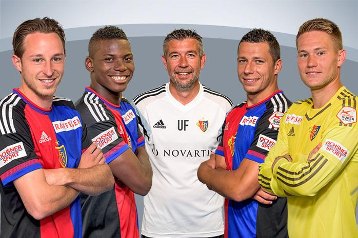 Лучшие игроки и тренер чемпионата Швейцарии сезона-2014/15. Фото SAFP