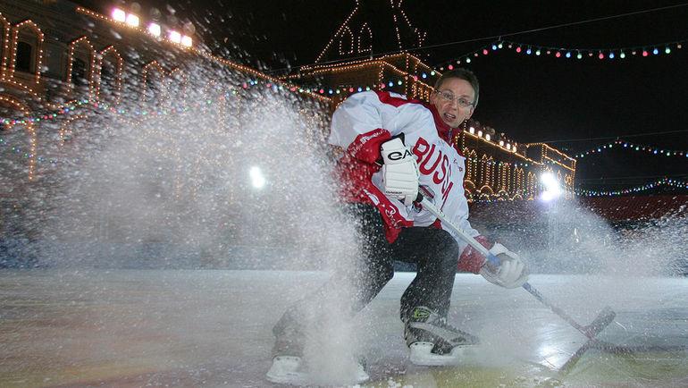 Игорь ЛАРИОНОВ на Красной площади. Фото AFP