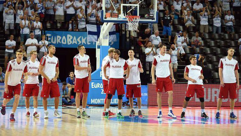 Мужская сборная России по баскетболу не попала на ОИ-2016. До сих пор ни одна российская команда еще не квалифицировалась в Рио. Фото AFP