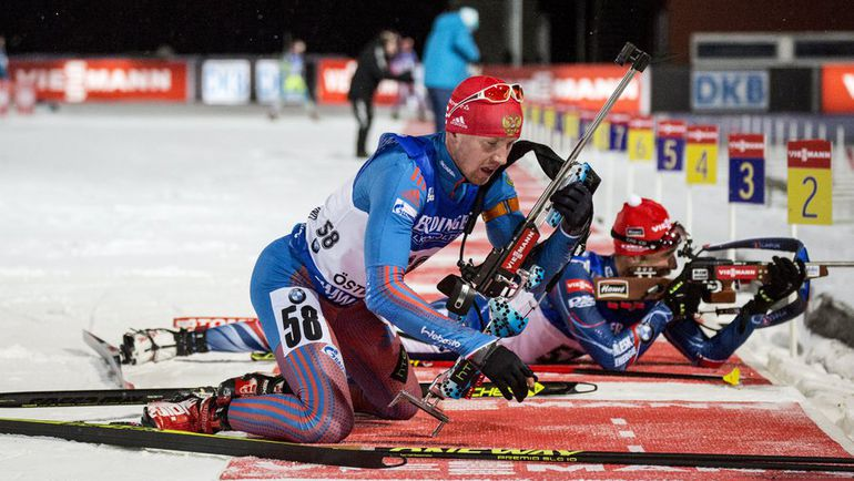 Алексей ВОЛКОВ принес сборной России единственную медаль на первом этапе Кубка мира в шведском Эстерсунде, завоевав бронзу в индивидуальной гонке. Фото REUTERS