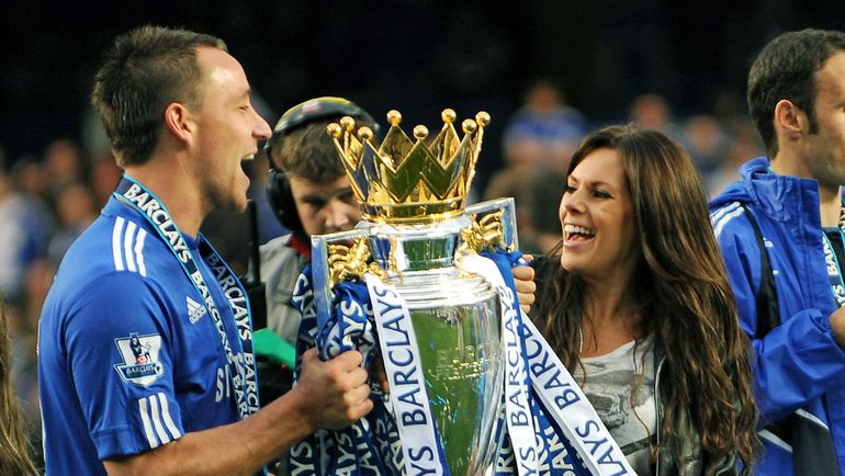 Джон ТЕРРИ с супругой Тони. Фото AFP