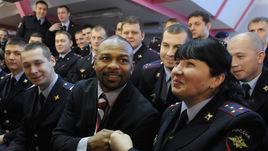 Вторник. Москва. Рой ДЖОНС в гостях у московской полиции.