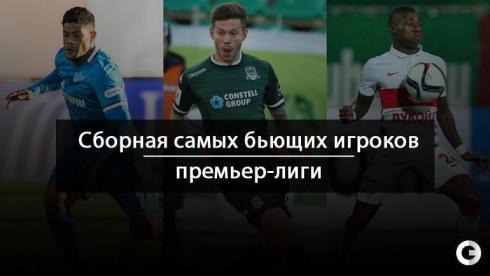Сборная самых бьющих игроков РФПЛ. От Халка до Габулова