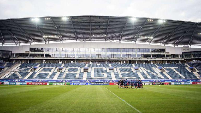 """Вот он - стадион, на который попадут-таки болельщики """"Зенита"""". Фото AFP"""