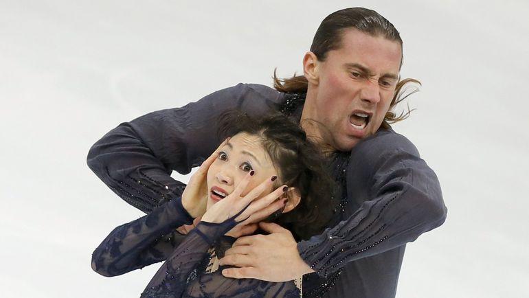 Юко КАВАГУТИ и Александр СМИРНОВ. Фото Reuters