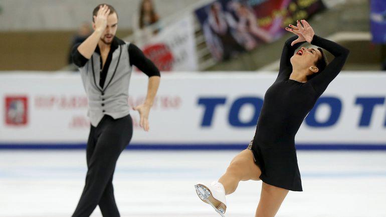 Ксения СТОЛБОВА и Федор КЛИМОВ. Фото Reuters