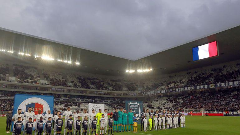 Сборная Франции уже знакома со стадионом в Бордо. Фото AFP