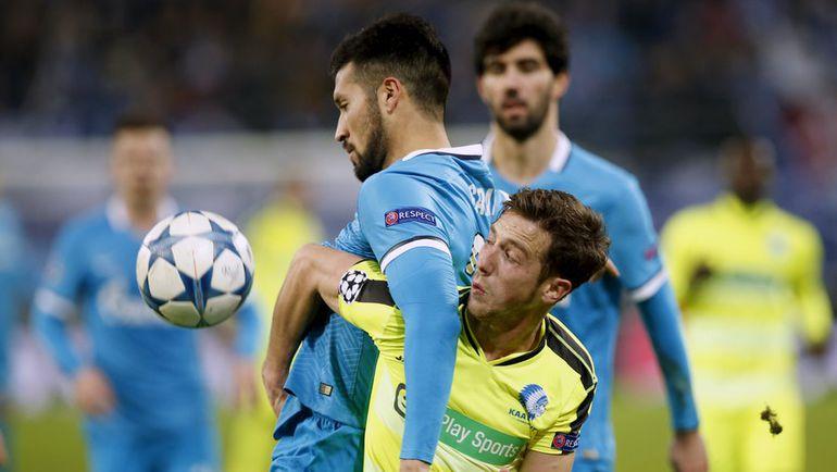 """""""Зенит"""" стал самой грубой командой группового турнира Лиги чемпионов. Фото Reuters"""