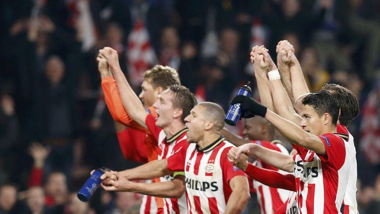 ПСВ - одна из главных сенсаций группового турнира Лиги чемпионов. Фото Reuters
