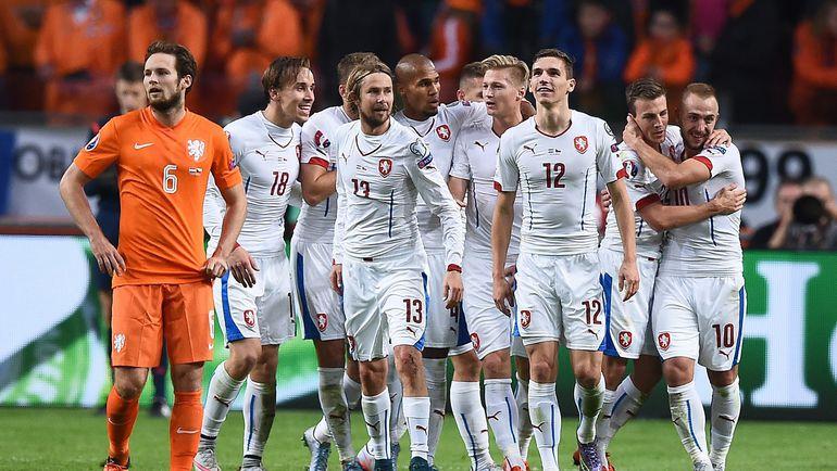 Сборная Чехии одной из первых вышла на Euro-2016, несмотря на то что играла в одной отборочной группе с Голландией. Фото AFP