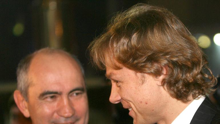 Курбан БЕРДЫЕВ и Валерий КАРПИН. Фото Татьяна ДОРОГУТИНА