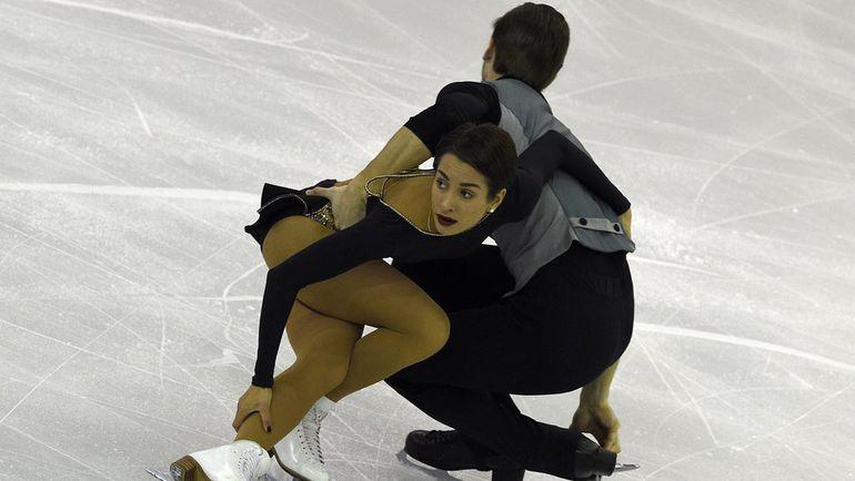 Вчера. Барселона. Ксения СТОЛБОВА и Федор КЛИМОВ. Фото AFP