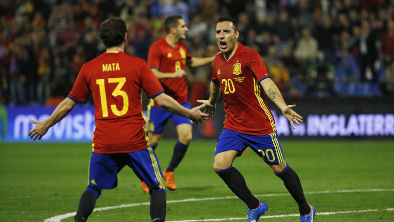 Сборная Испании - один из возможных соперников России на чемпионате Европы-2016. Фото REUTERS