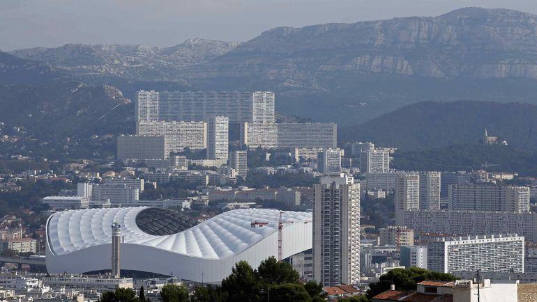 """Марсель. Вид на стадион """"Велодром"""". Фото AFP"""