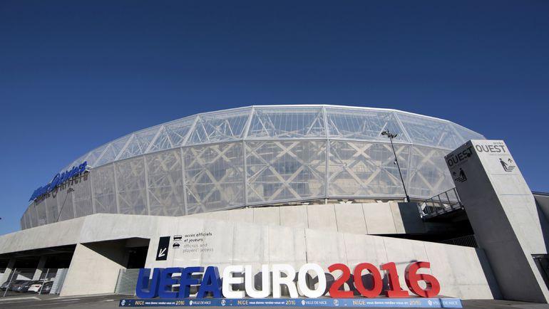 """Ница. Стадион """"Алльянц Ривьера"""". Фото AFP"""