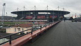 Вчера. Сен-Дени. Вот так выглядит стадион