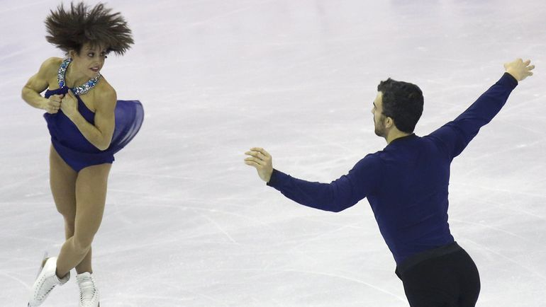 Меган ДЮАМЕЛЬ и Эрик РЕДФОРД. Фото REUTERS