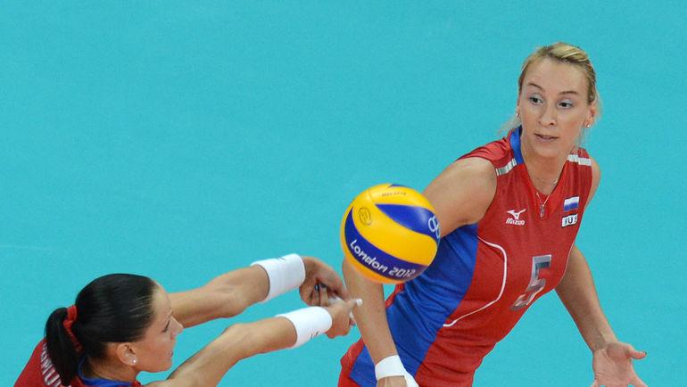 Любовь СОКОЛОВА на Олимпийских играх в Лондоне. Фото AFP