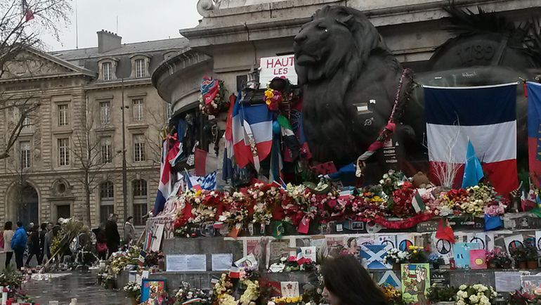 "Париж сегодня... Фото Александр ПРОСВЕТОВ, ""СЭ"""