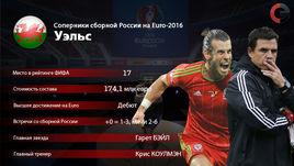 Факты о сборной Уэльса.