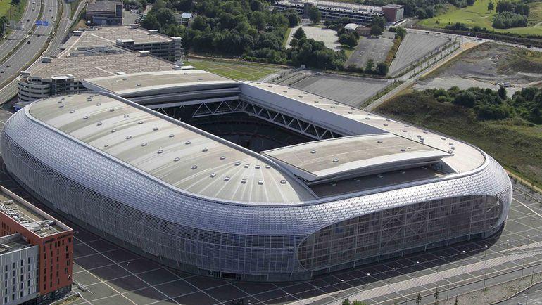 "Лилль. Стадион ""Пьер Моруа"". Фото AFP"