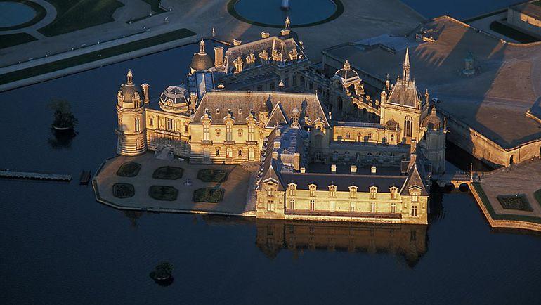 Замок Шантийи. Фото dolcechantilly