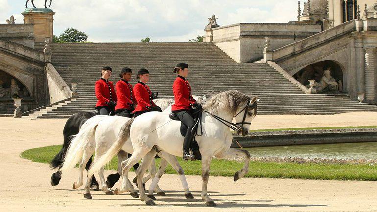 Какой бы из двух отелей во Франции ни выбрал РФС, сборной предстоит соседствовать с замками и лошадями. Фото dolcechantilly