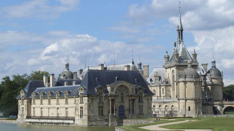 Замок в Шантийи. Фото wikipedia.org
