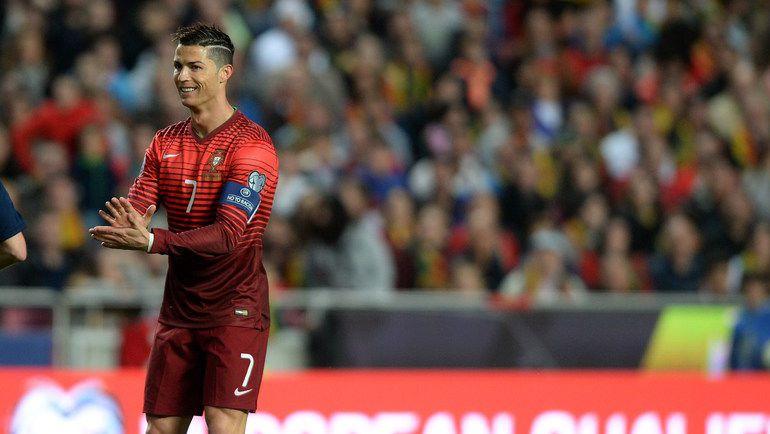 Криштиану РОНАЛДУ утверждает, что ему не хватает титула, завоеванного со сборной Португалии. Фото REUTERS