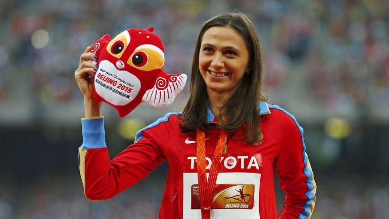 Чемпионка мира-2015 в прыжках в высоту Мария КУЧИНА. Фото REUTERS