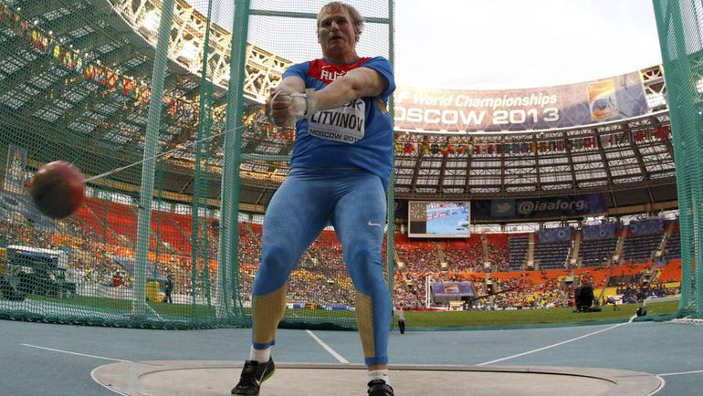 Сергей ЛИТВИНОВ на ЧМ-2013 в Москве. Фото REUTERS