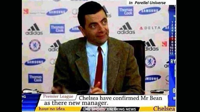 """""""Челси"""" подтвердил назначение Мистера Бина в качестве нового главного тренера."""