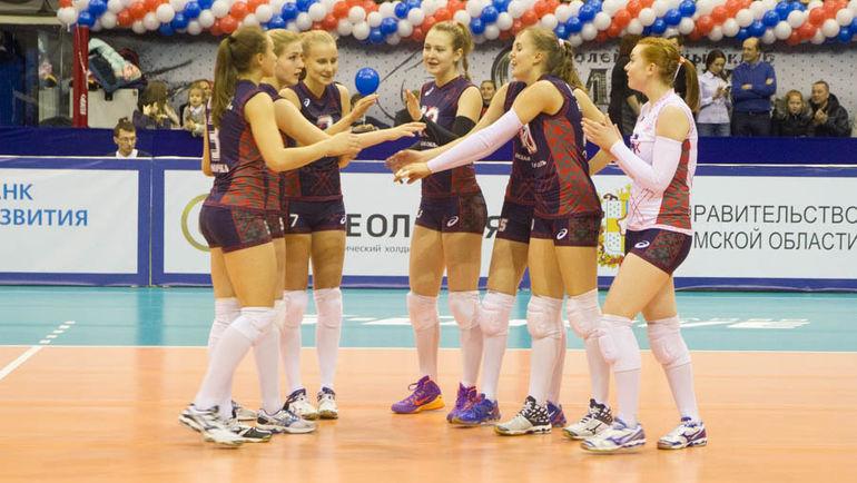 """В основной команде """"Омички"""" будут выступать игроки молодежного состава. Фото volleyprof.ru"""
