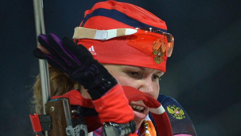 Екатерина ШУМИЛОВА в спринте стала только 66-й... Фото AFP