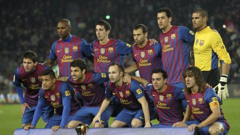 """""""Барселона"""" - клубный чемпион мира образца 2012 года. Фото Reuters"""