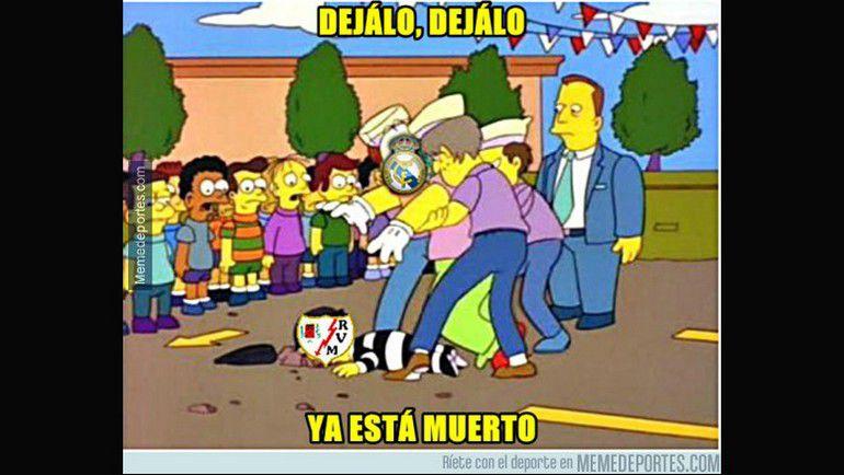 """Мемы и карикатуры на матч """"Реал"""" - """"Райо Вальекано"""" (10:2). Фото memedeportes.com"""