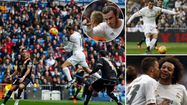 """Воскресенье. Мадрид. """"Реал"""" - """"Райо Вальекано"""" - 10:2. Фото AFP"""