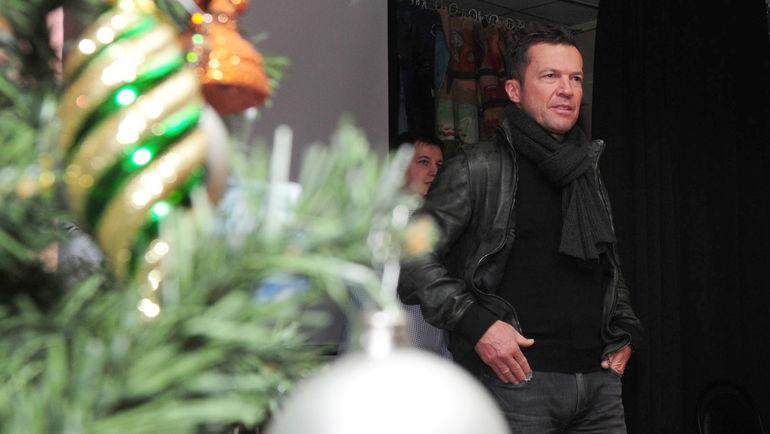 """Сегодня. Москва. Лотар МАТТЕУС. Фото Федор УСПЕНСКИЙ, """"СЭ"""""""
