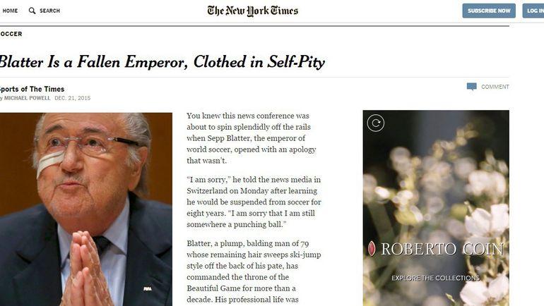 "New York Times. Фото ""СЭ"""