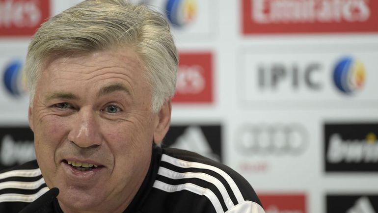Карло АНЧЕЛОТТИ. Фото AFP