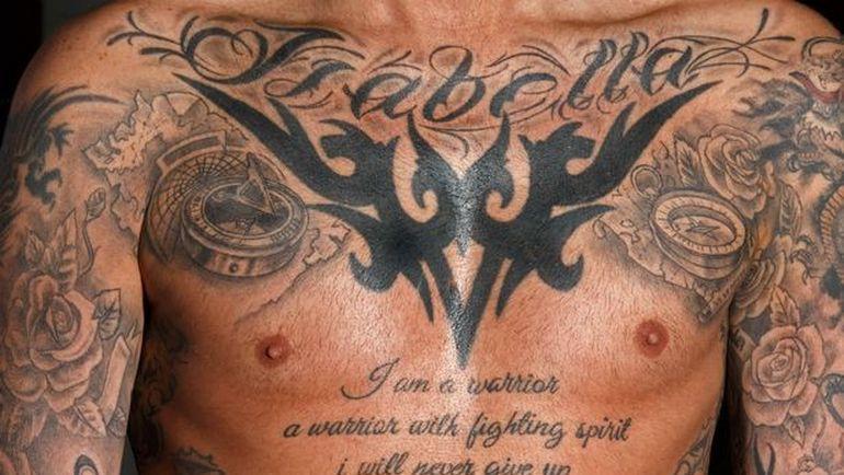 Татуировки Фернандо Риксена.