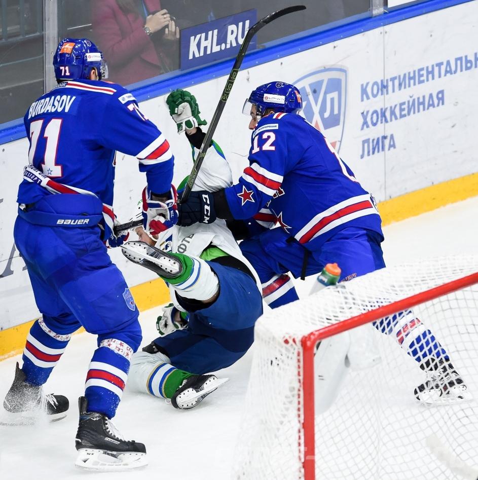 Салават Юлаев — СКА. Прогноз на матч 24.10.2018. КХЛ