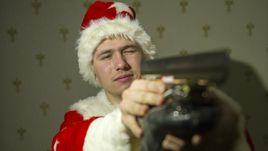 Вчера. Коломна. Дед Мороз Павел КУЛИЖНИКОВ.