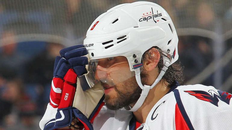 """Понедельник. Баффало. """"Баффало"""" – """"Вашингтон"""" – 0:2. Александр ОВЕЧКИН. Фото НХЛ"""