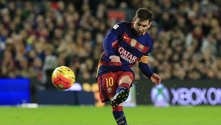 """Нападающий """"Барселоны"""" Лионель МЕССИ. Фото AFP"""
