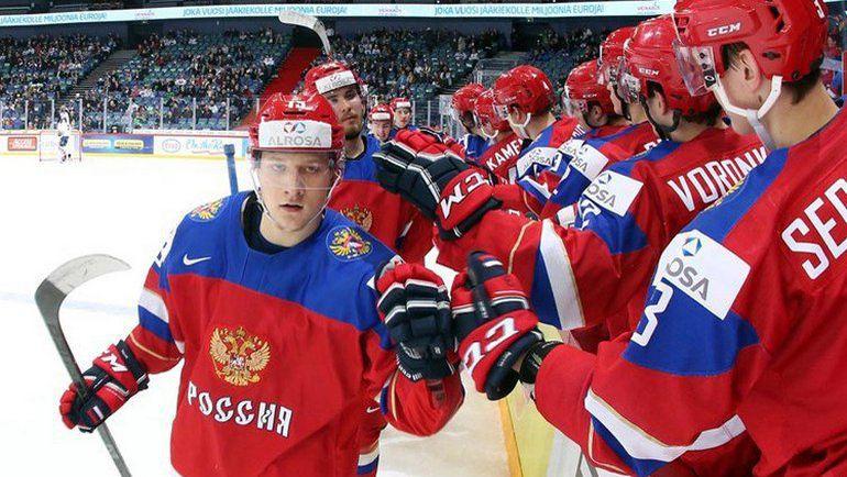 Сборная России: не оступиться в первом раунде плей-офф. Фото IIHF